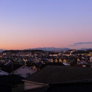 丹沢初冠雪と紅富士を撮ったぜ!の画像
