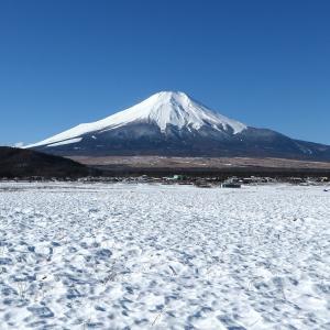 2020年2月の富士山