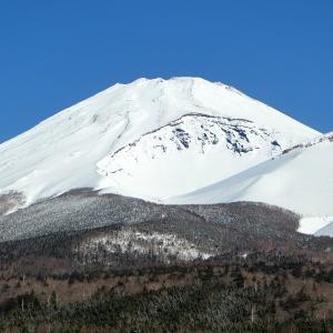 雪の積もった富士山宝永火口に行ったぜ!の画像