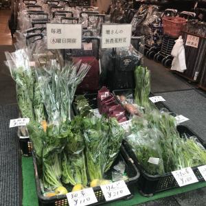 壇さんの店頭お野菜市