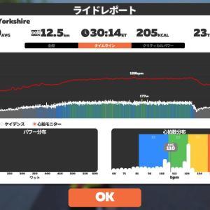 6/09 Zwift30分@つなぎ練習