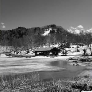 No.1534 - 1537      「四月の残雪 -4-」