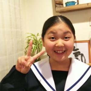 2月19日:ひな「卒業式」別れの言葉!