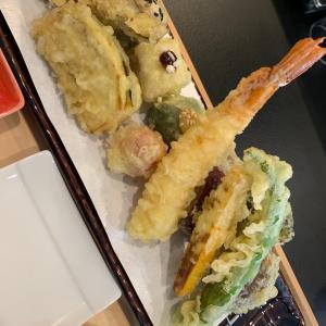京生麩の天ぷら。