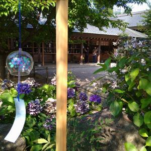 夏の櫛田神社