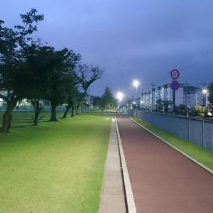 福井運動公園RUN(6/22)のこと