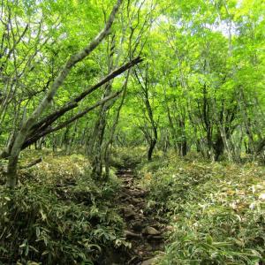 地蔵岳と小沼外輪山 …その1