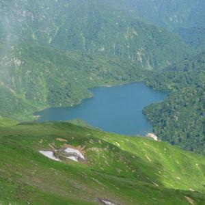 朝日連峰、2004年夏