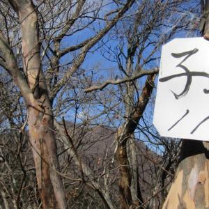 碓氷峠から一ノ字山~子持山 …その3