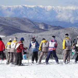 宮内中学校スキー教室3日目はベストコンディション