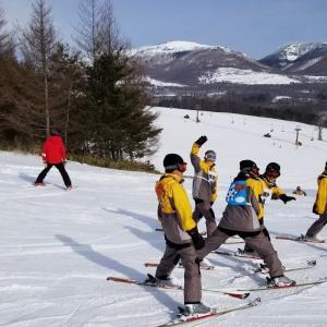 桶川西中学校スキー教室2日目