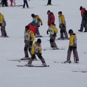 鴻巣西中学校スキー教室1日目