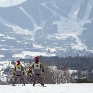 鴻巣西中学校スキー教室2日目
