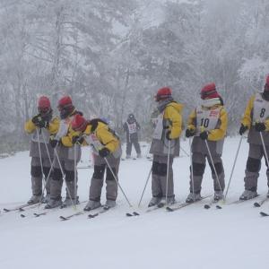 鴻巣西中学校スキー教室 極寒の最終日