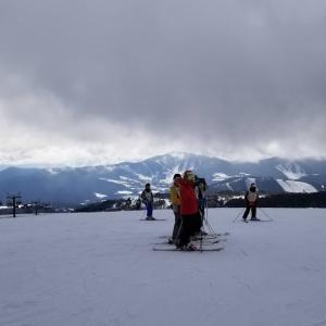 北本中学校スキー教室2日目は急成長!
