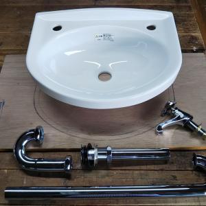 工房のリフォーム計画「手洗いシンク」