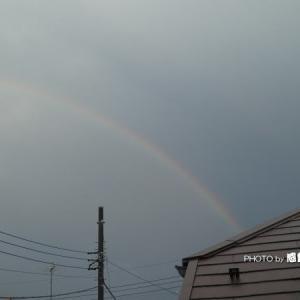久々に虹を観た♪2107
