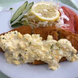 白身魚フライランチ