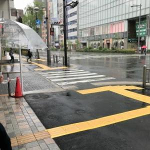 ~雨の中~