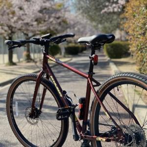 クロスバイクで運動&ストレス解消