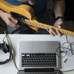 7丁目ギター教室オンラインレッスン開始!