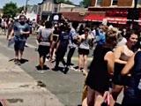 【動画】 黒人デモに共感してシアトルに行った日本人、到着15分後に黒人にボコボコに殴られ撤退