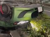 【動画】 マセラティ乗りの18歳社長、預けてた車屋を出た直後にタイヤが全て外れ廃車に・・ 告発動画に衝撃走る
