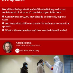 新型ウィルスの死者80人、感染者2700人超す #新型ウィルス #コロナウィルス #速報