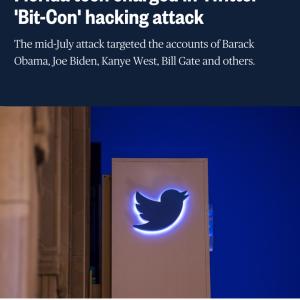 速報! Twitterのオバマ前大統領らのアカウント・ハッキング、犯人は17歳の少年だった