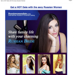 ロシアの出会い系再び #ロシア #出会い系 #スパム