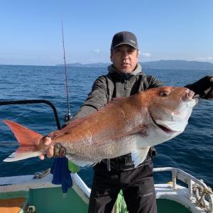 83cm真鯛登場です!!