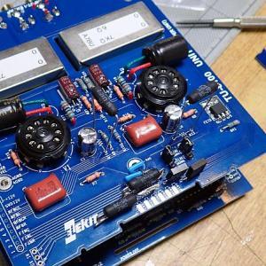 エレキット製真空管アンプ・キット「TU-8100」組み立て開始 ②