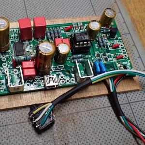 USB-DAC PS-3249Rの組み立て
