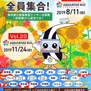 告知 8月11日(日) 第19回アクアリウムバスが浅草で開催・・・