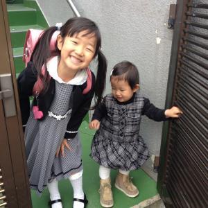 ニコニコ笑顔の入学式^ - ^