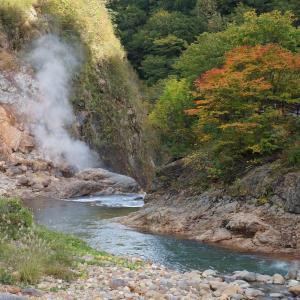 【県央】〔雫石町〕長山街道のグルメと滝ノ上温泉の紅葉