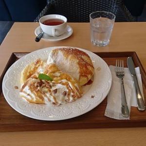 【沿岸南部】〔釜石市〕小島かふぇのパンケーキ