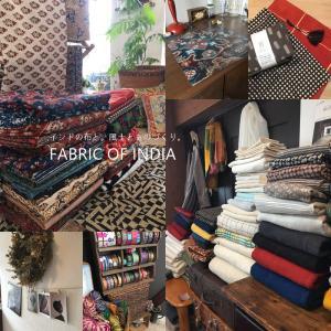 インドの布とクネクネくつ下のmokonoさんに会いに行ってきました