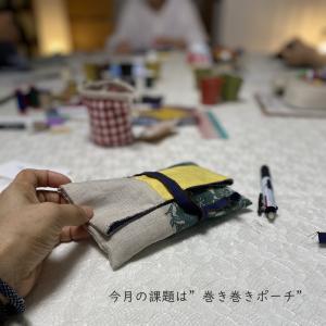 降ったり止んだり…7月手縫いカフェ@塩屋