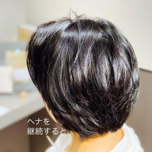 ヘナカラーで髪質改善