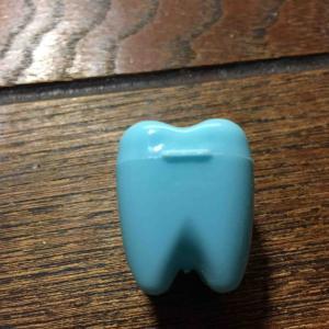 長男の第1乳臼歯抜ける