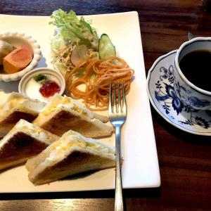 加西でモーニング「カフェ えん」
