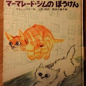 断捨離の合間に気を済ます/アラン・シリトーによる猫の童話『ママレード・ジムのぼうけん』