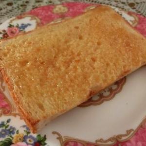 プリンジャムを塗ってからパンを焼くとフレンチトースト風になる(北海道プリンジャム)&素朴な極みプリン/カンナに花芽…