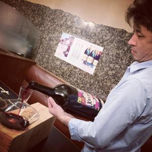 解禁だ❗️ #イタリアワイン #焼肉三幸苑 #三幸苑 #ワイン