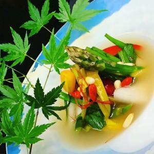 おはようございます。 #野菜 #水キムチ #戸越銀座 #五反田 #品川 #三幸苑 #焼肉屋