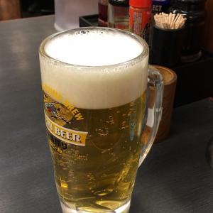 【日高屋 武蔵小金井南口店】で生ビールを飲んでみた。。。