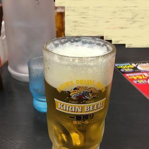 飲み会の〆【日高屋 国分寺南口店】で、又ビール!!