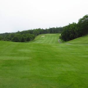 久々のゴルフ場