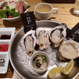 牡蠣堪能コース@新宿キンカウーカ